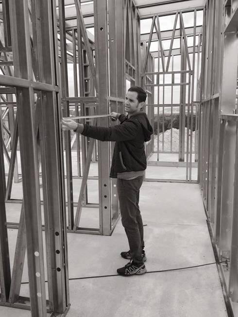Light Steel Frame :   por Seixas &  Filhos Engenharia e Construção