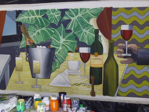Detalle de producción: Arte de estilo  por ANTAVIA WALL DECOR