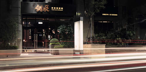 Tong Hua 銅花:  商業空間 by CJ INTERIOR 長景國際設計