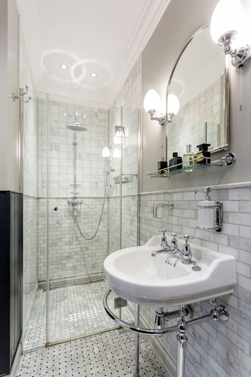 Bathroom by GK Architects Ltd