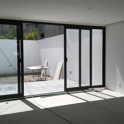 Construcci n de terraza de casas eco constructora homify for Construccion de casas en terrazas