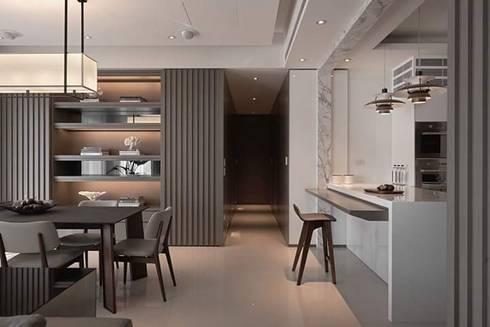 Remodelación Casa: Comedores de estilo moderno por casas eco constructora