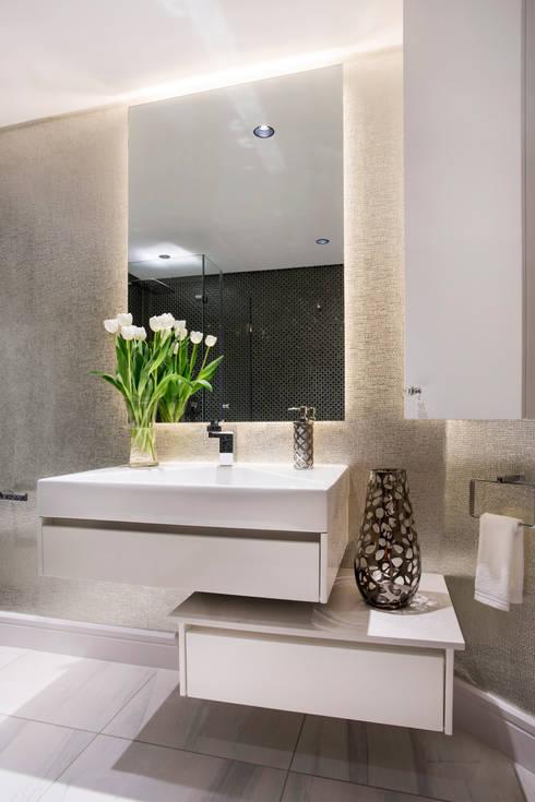 حمام تنفيذ FRANCOIS MARAIS ARCHITECTS