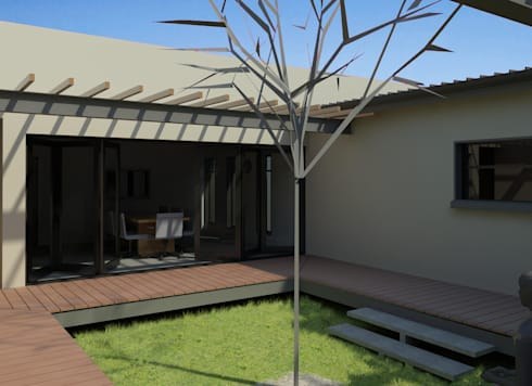 MPIL' ENTSHA CLINIC:   by E-VISIONS Architectural design Studio