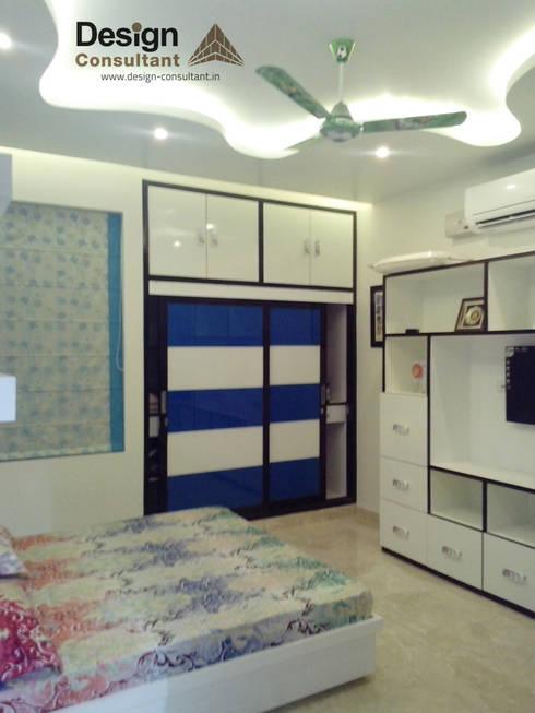 Projekty,  Sypialnia zaprojektowane przez Design Consultant