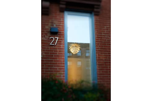 Passive in Park Slope: modern Houses by Sarah Jefferys Design