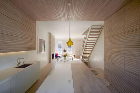 Passive in Park Slope: modern Kitchen by Sarah Jefferys Design