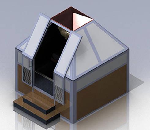 Piramide Hydrovision: Sedi per eventi in stile  di nps srl