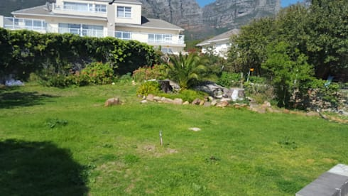Amara Bakoven: BEFORE  landscaping commenced:   by Urban Landscape Solutions
