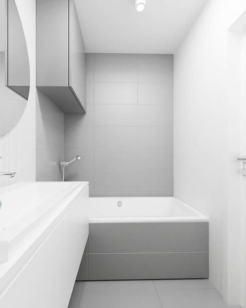 Baños de estilo  de FOORMA Pracownia Architektury Wnętrz