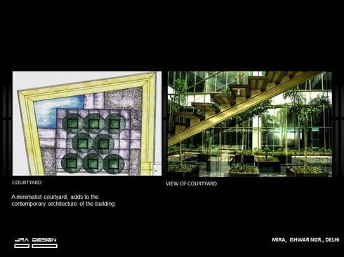 THE MIRA, : modern Houses by JRA DESIGN