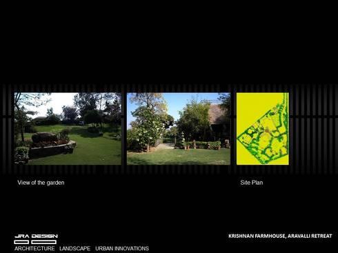KRISHNAN FRAMHOUSE: modern Houses by JRA DESIGN