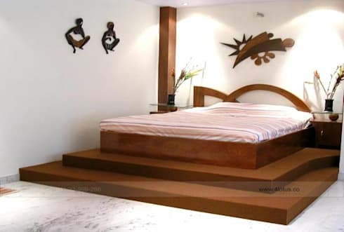 Bed Room: asian Bedroom by 4 Lotus Interior