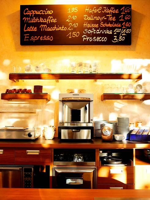 cafe´ wandgestaltung mit edelputz als kreative wandbeschichtung ... - Wandbeschichtung Küche