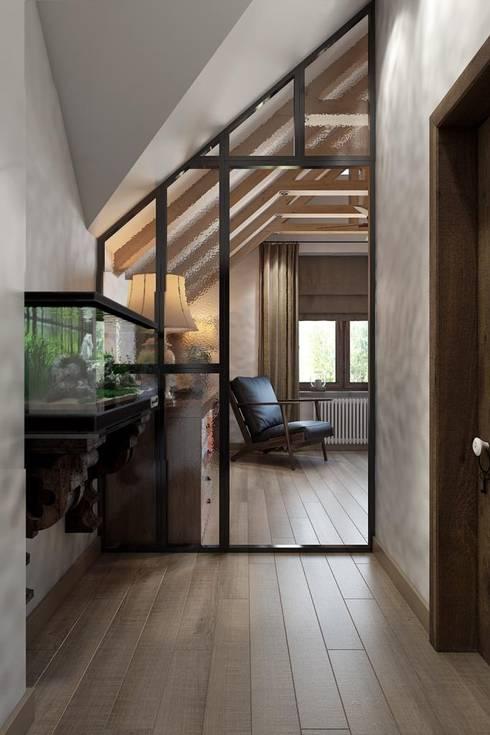 Corridor & hallway by Дизайн студия Алёны Чекалиной