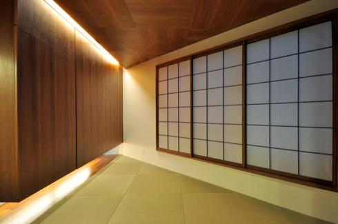YSM-HOUSE: 門一級建築士事務所が手掛けた和室です。