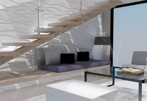 Departamento Pitagoras: Casas de estilo moderno por LNM Arquitectura & Diseño Interior