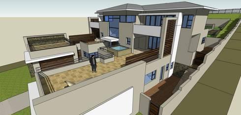 House Mkumla:   by GMB Architects