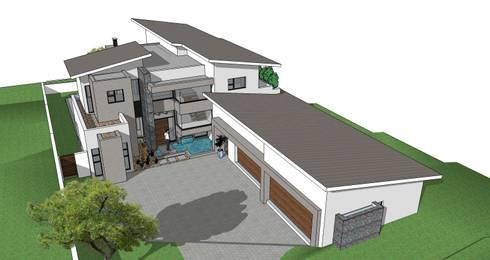 House Myeni:   by GMB Architects