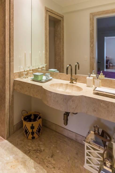 Lavabo: Banheiros  por Lnormand Interiores