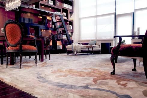 Brooklyn Loft - Livingroom: modern Living room by Joe Ginsberg