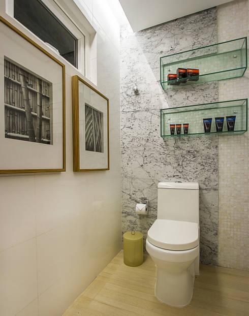 حمام تنفيذ Cris Nunes Arquiteta