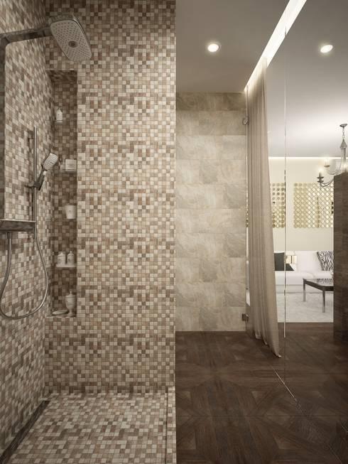 Bathroom by design studio by Mariya Rubleva