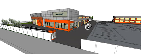 ผลงานออกแบบโรงงาน โดย KL-Cons.:  บ้านและที่อยู่อาศัย by บริษัท เค.แอล.คอนสตรัคชั่น แอนด์ ซัพพลาย จำกัด