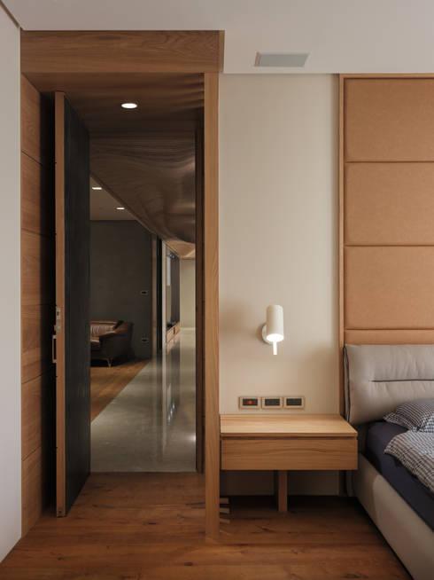 The Flow :  臥室 by 形構設計 Morpho-Design