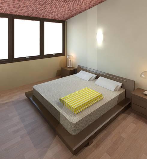 Dormitorio 03:  de estilo  por Diseño Store