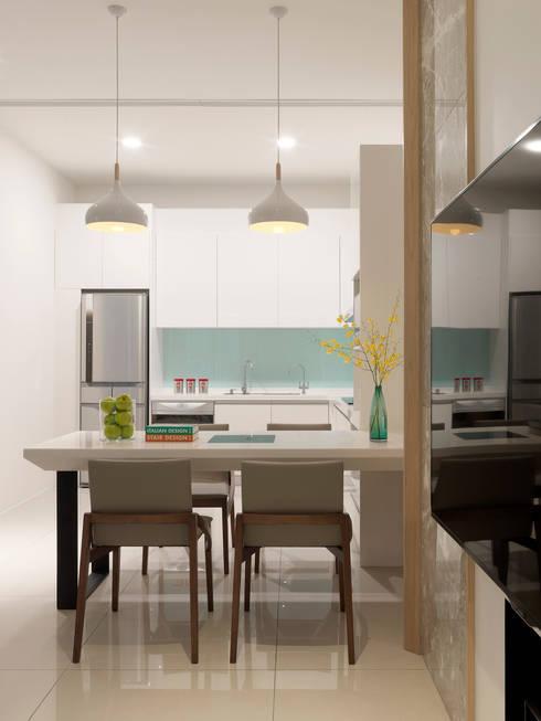 Freedom house:  餐廳 by 夏沐森山設計整合