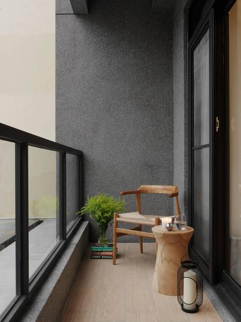 Projekty,  Taras zaprojektowane przez 夏沐森山設計整合
