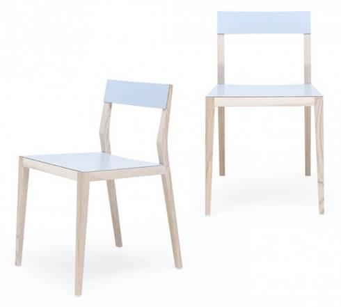 Kompakter Arbeitsplatz im minimalistischen Stil von Mint Design von ...