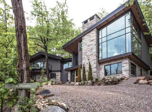 Mad River Chalet: modern Houses by BLDG Workshop Inc.