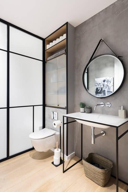 Badkamer door Black and Milk | Interior Design | London