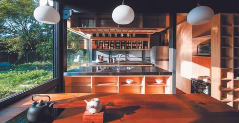 [ 行動木屋 ] Qfarm:  廚房 by FAMWOOD 自然紅屋