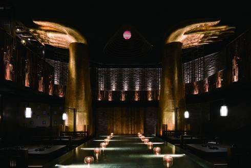 天水玥秘境鍋物殿 (2016 中國好設計 榮譽獎):  餐廳 by 周易設計