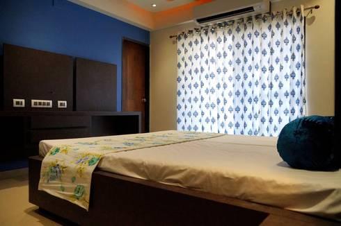 Maniar's: modern Bedroom by mithil gandhi - interior designer