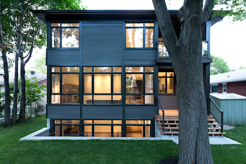 McKellar Park New Home: modern Houses by Jane Thompson Architect