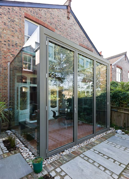 Frameless Glass Box Extension By Trombe Ltd Homify