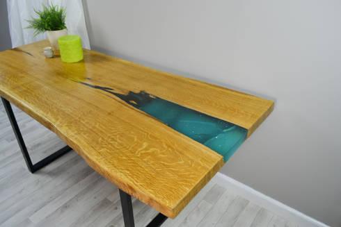resin tables by frances bradley homify. Black Bedroom Furniture Sets. Home Design Ideas