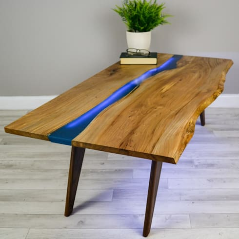 Delicieux Resin River Coffee Table