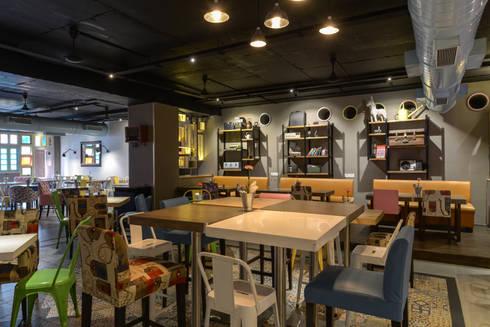#Adda:  Bars & clubs by Studio K-7 Designs Pvt. Ltd