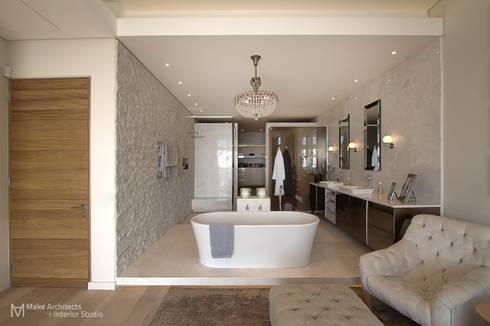 Hove Road : modern Bathroom by Make Architects + Interior Studio