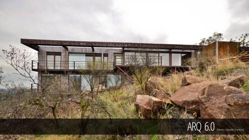Casa Balmaceda: Casas de estilo moderno por Arq6.0