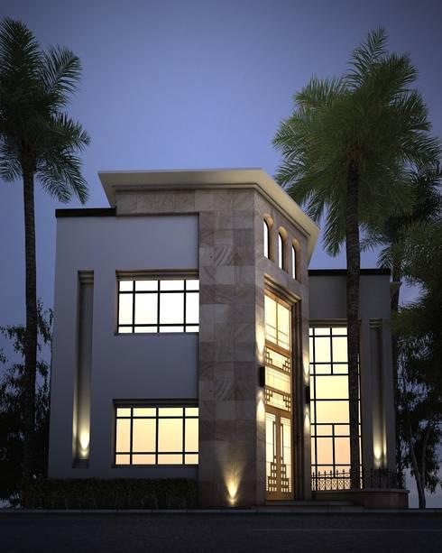 Villa In Ksa :   تنفيذ M.E.ARCHITECTS