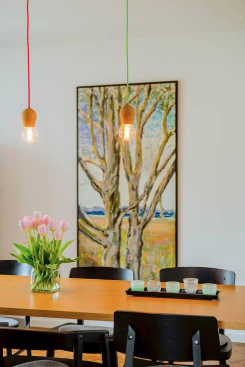 minimalistische Eetkamer door Architektur Jansen