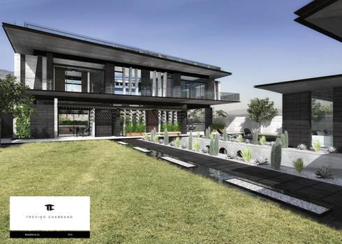 RESIDENCIA GG: Casas de estilo moderno por TREVINO.CHABRAND | Architectural Studio