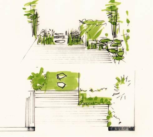 Gartenlounge terrassenplanung von grasgrau for Terrassenplanung ideen