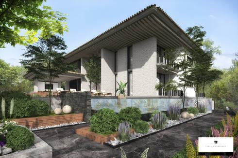 RESIDENCIA EO: Casas de estilo clásico por TREVINO.CHABRAND | Architectural Studio
